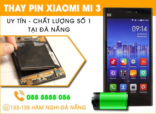 Thay pin Xiaomi Mi 3 Đà Nẵng