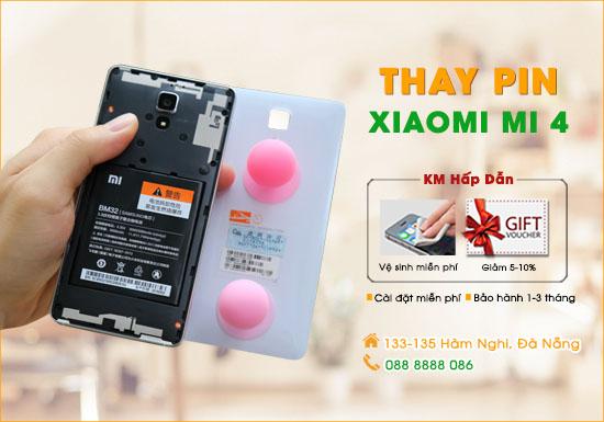 Thay pin Xiaomi Mi 4 Đà Nẵng