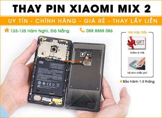 Thay pin Xiaomi Mix 2 Đà Nẵng