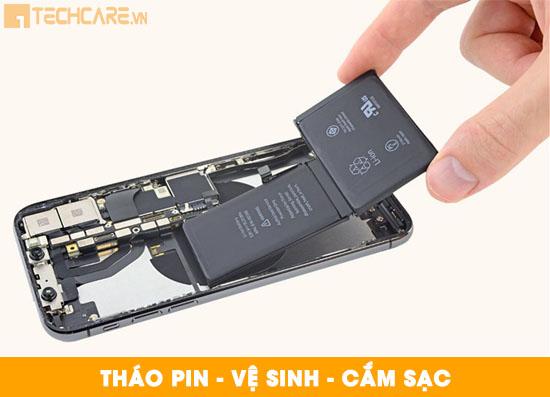 Cách khắc phục pin Iphone bị chai phồng