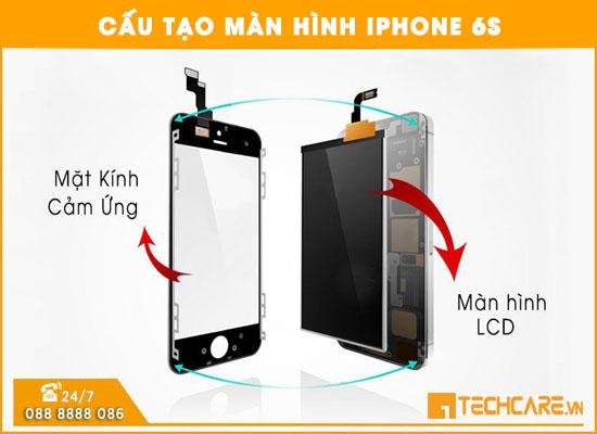 Cấu tạo màn hình Iphone 6s