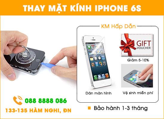 Địa chỉ thay mặt kính Iphone 6s tại Đà Nẵng