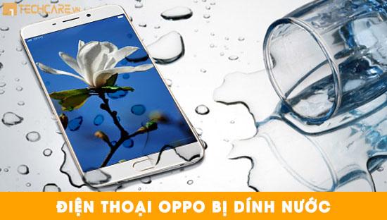 Điện thoại bị dính nước gây hỏng pin