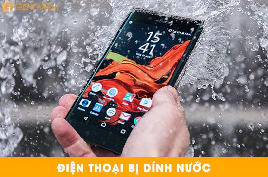 Điện thoại Sony XZ bị ngấm nước làm hỏng pin