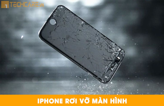 Thay mặt kính Iphone 7 plus bị rơi vỡ
