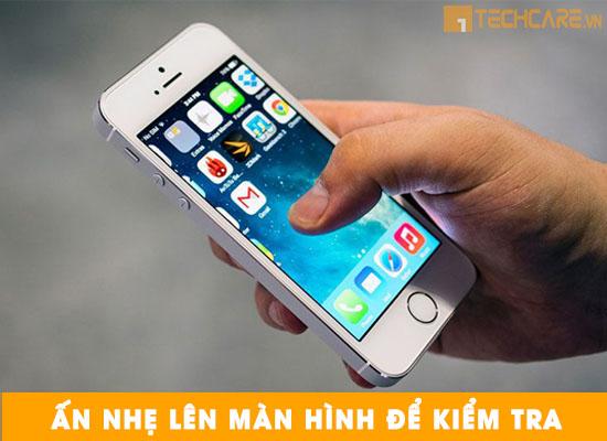Kiểm tra màn hình Iphone thật giả