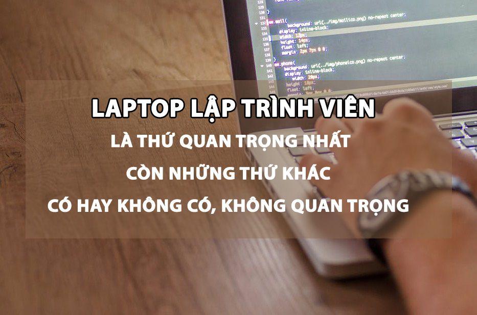 laptop cho lập trình viên