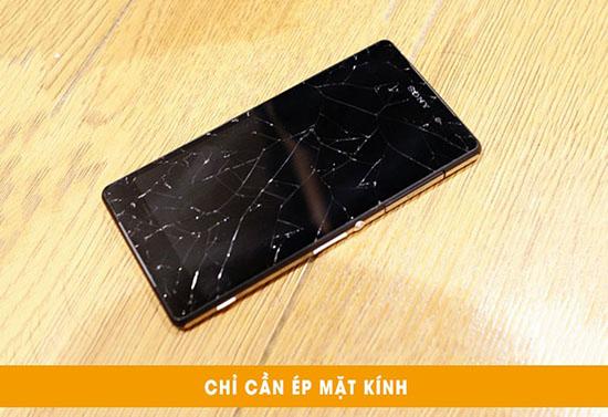 Thay mặt kính Sony Z2 Đà Nẵng