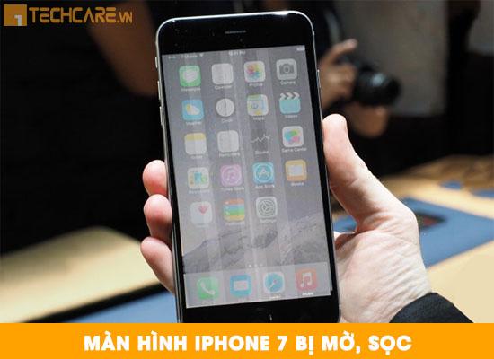 Thay màn hình Iphone 7 bị mờ sọc