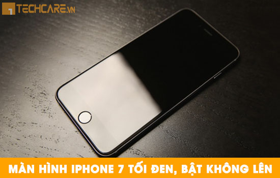 Thay màn hình Iphone 7 bị tối đen bật không lên