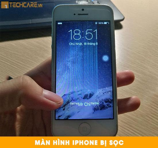Thay màn hình Iphone bị sọc