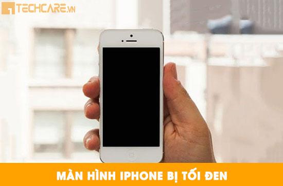 Thay màn hình Iphone bị tối đen