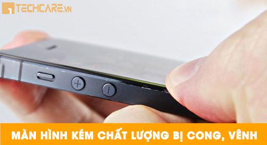 Màn hình Iphone bị cong vênh