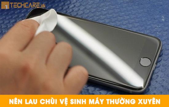 Cách bảo quản màn hình Iphone