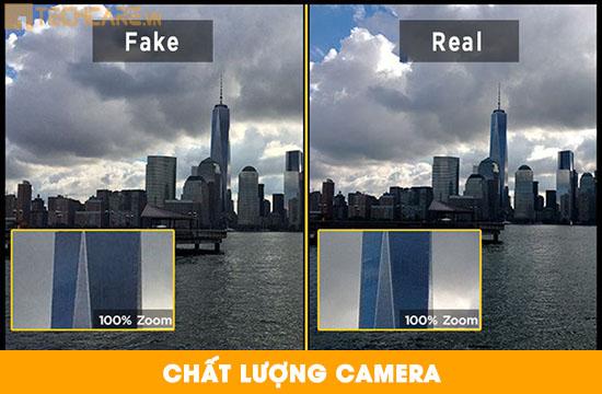 Phân biệt màn hình Iphone chính hãng dựa vào camera