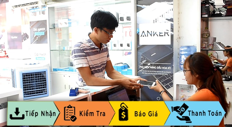 quy trình sửa chữa điện thoại tại techcare đà nẵng