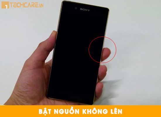 Thay màn hình Sony Z4 bị tối đen, không hiển thị
