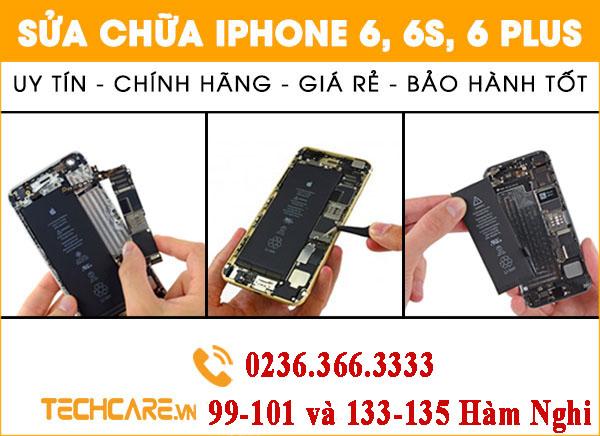 Sửa chữa Iphone 6, 6s, 6 plus Đà Nẵng