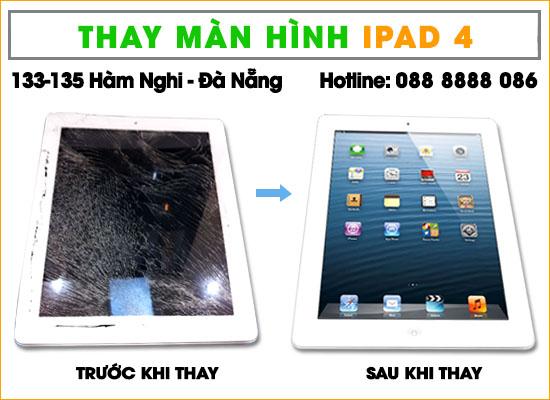 Thay màn hình Ipad 4 tại Đà Nẵng