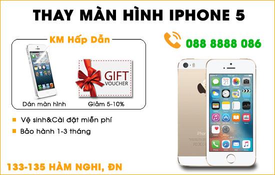 Thay màn hình Iphone 5s Đà Nẵng