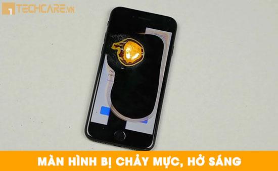 Thay màn hình Iphone 7 bị chảy mực, hở sáng