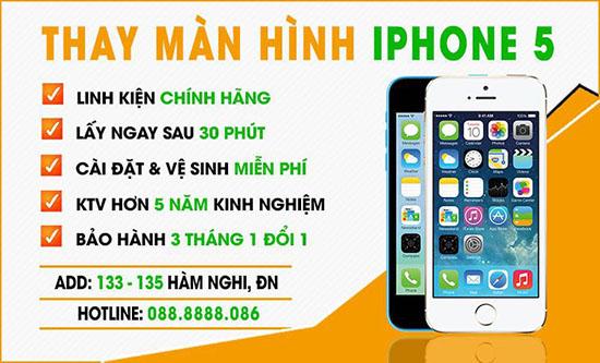 Thay màn hình Iphone chính hãng