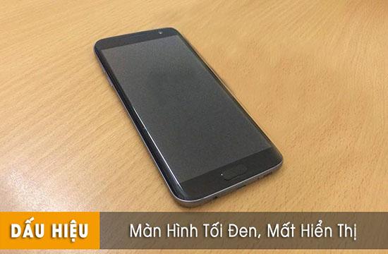 Thay màn hình Samsung s7 edge bị tối đen