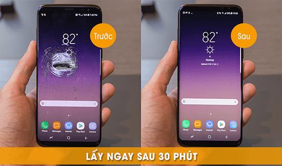 Thay màn hình Samsung s8 lấy liền