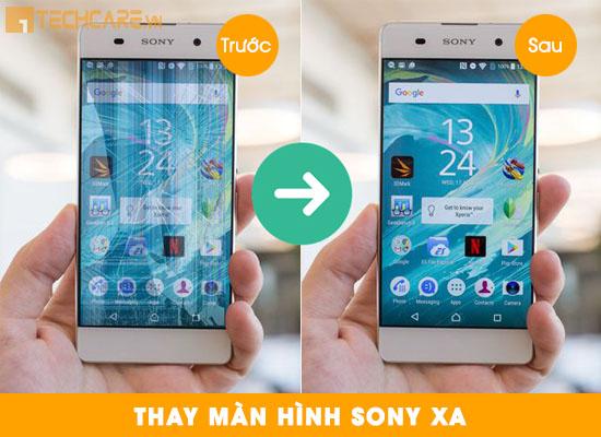 Thay màn hình Sony XA tại Techcare Đà Nẵng