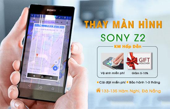 Thay màn hình Sony Z2 chính hãng