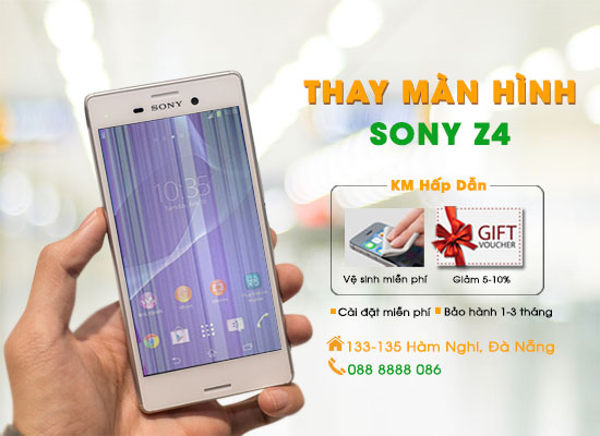 Thay màn hình Sony Z4 Đà Nẵng