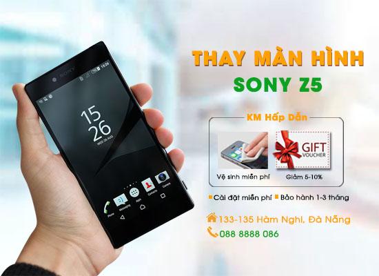 Thay màn hình Sony Z5 Đà Nẵng