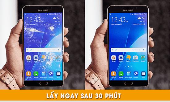 Thay mặt kính Samsung A9 lấy liền