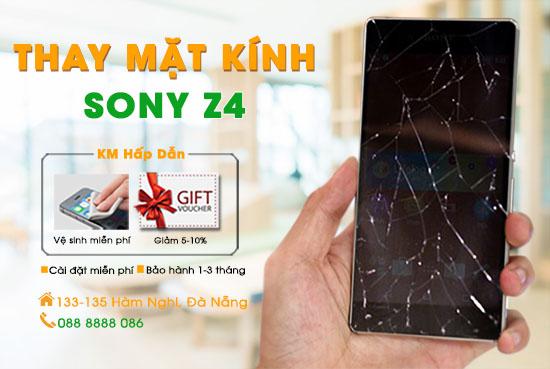Thay mặt kính Sony Z4 chính hãng Đà Nẵng