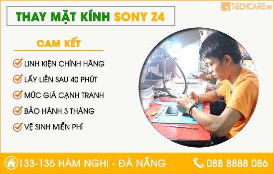 Thay mặt kính Sony Z4 uy tín Đà Nẵng