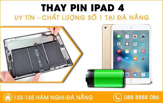 Địa chỉ thay pin Ipad 4 chính hãng tại Đà Nẵng