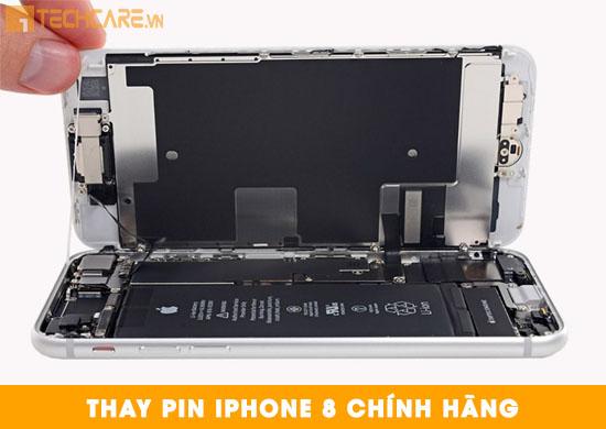 Thay pin Iphone 8 chính hãng