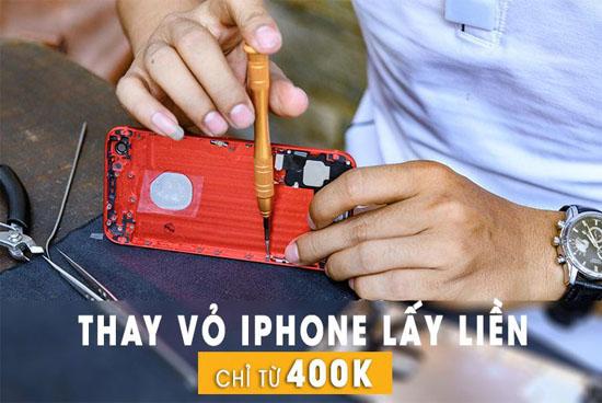 Thay vỏ Iphone lấy liền tại Đà Nẵng