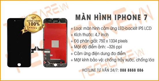 Thông số màn hình Iphone 7