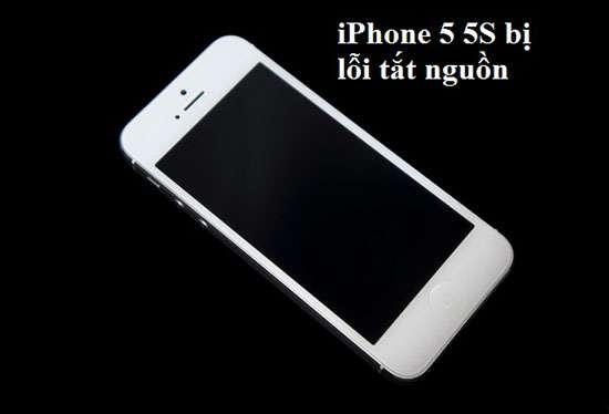 iPhone 5 còn pin bị sập nguồn
