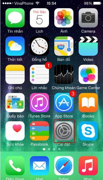 màn hình iphone 7 tự sáng