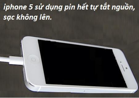 Hướng dẫn cách kích pin iPhone 5
