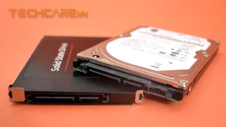 cách lắp 2 ổ cứng vào laptop