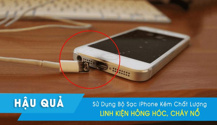 cáp sạc củ sạc iphone chính hãng tại đà nẵng