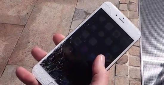 iPhone bị liệt cảm ứng 1 hàng