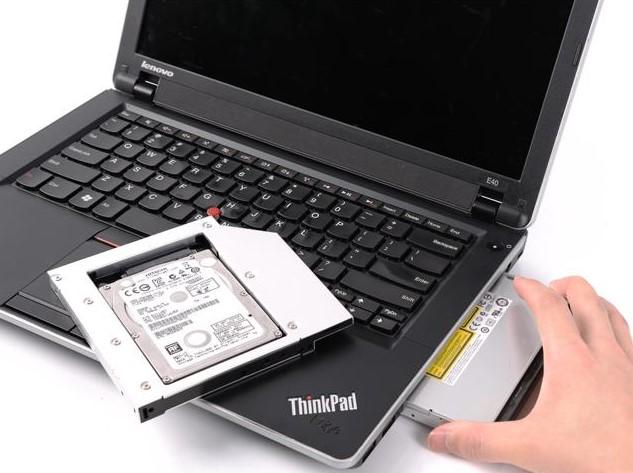 lắp 2 ổ cứng cho laptop