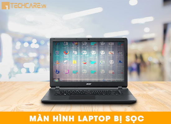 Lỗi laptop Acer bị sọc màn hình