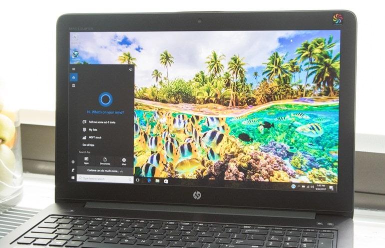 laptop render video zbook 15