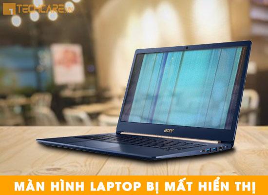 Màn hình laptop Acer bị mất hiển thị
