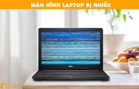 Sửa chữa màn hình laptop dell bị nhiễu